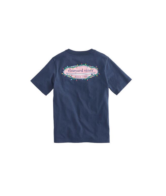 Boys Surf Lights Pocket T-Shirt