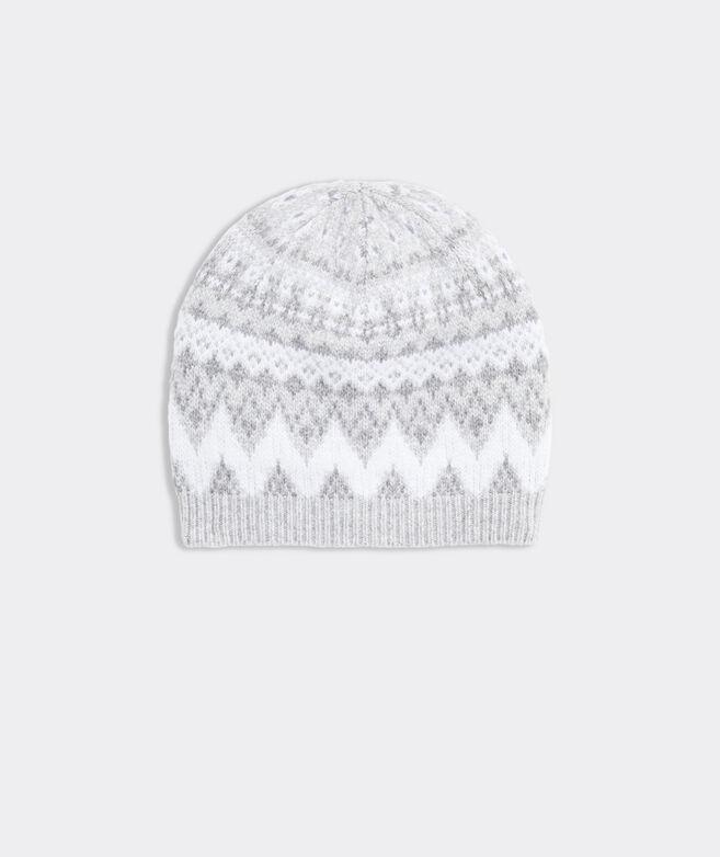 Tonal Fairisle Hat