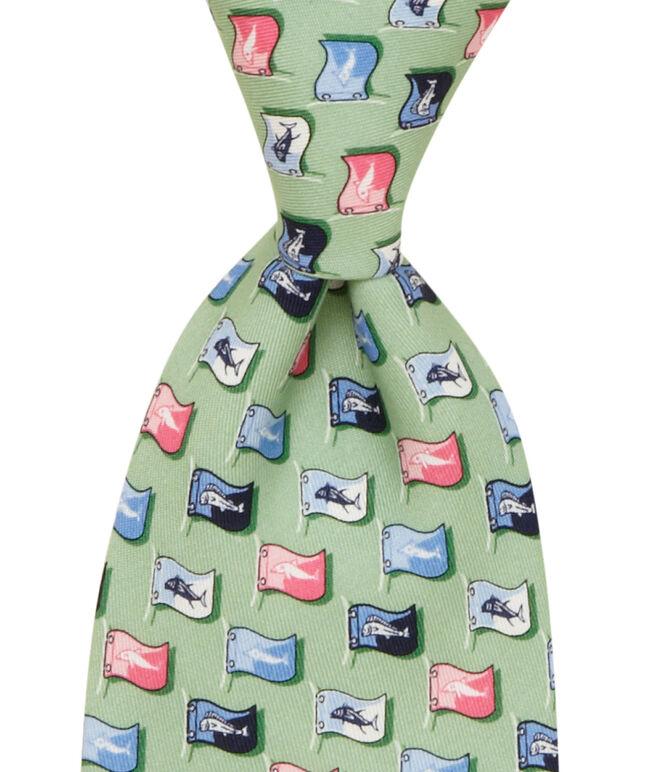 Fish Flag Tie