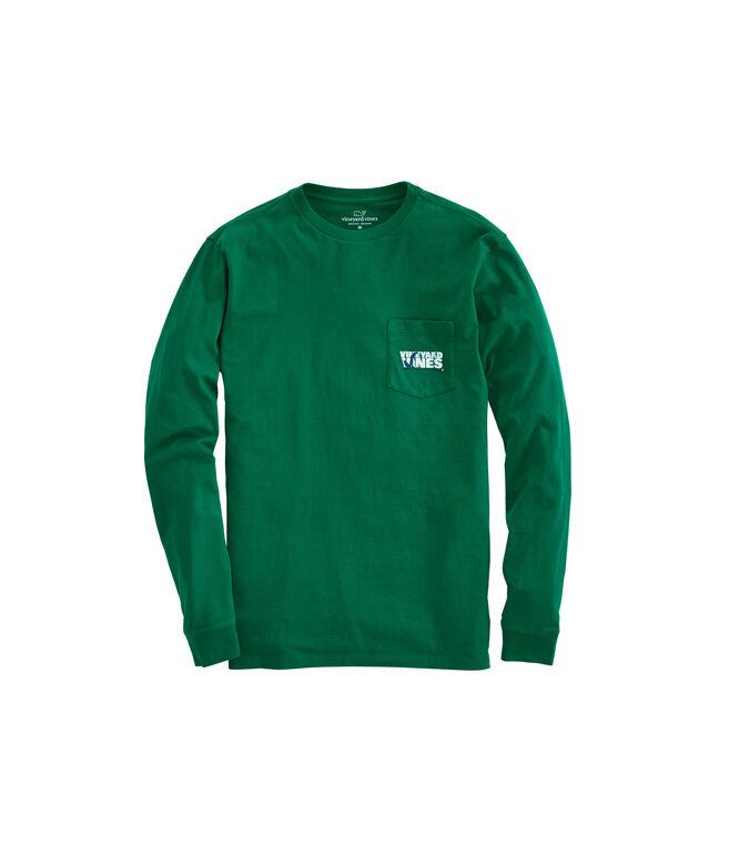 Long-Sleeve Golf Putt Knockout Pocket T-Shirt