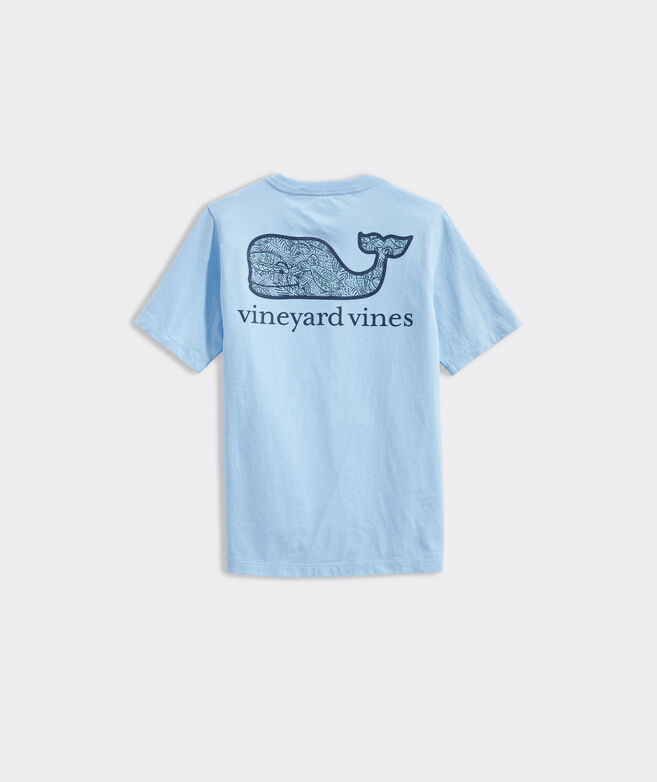 Boys' Magic Color Fish Whale Short-Sleeve Pocket Tee