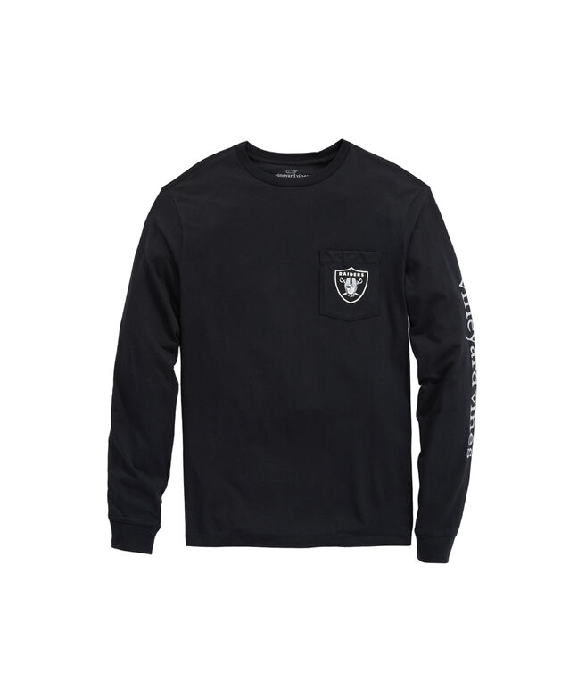 Oakland Raiders Long-Sleeve EDSFTG T-Shirt