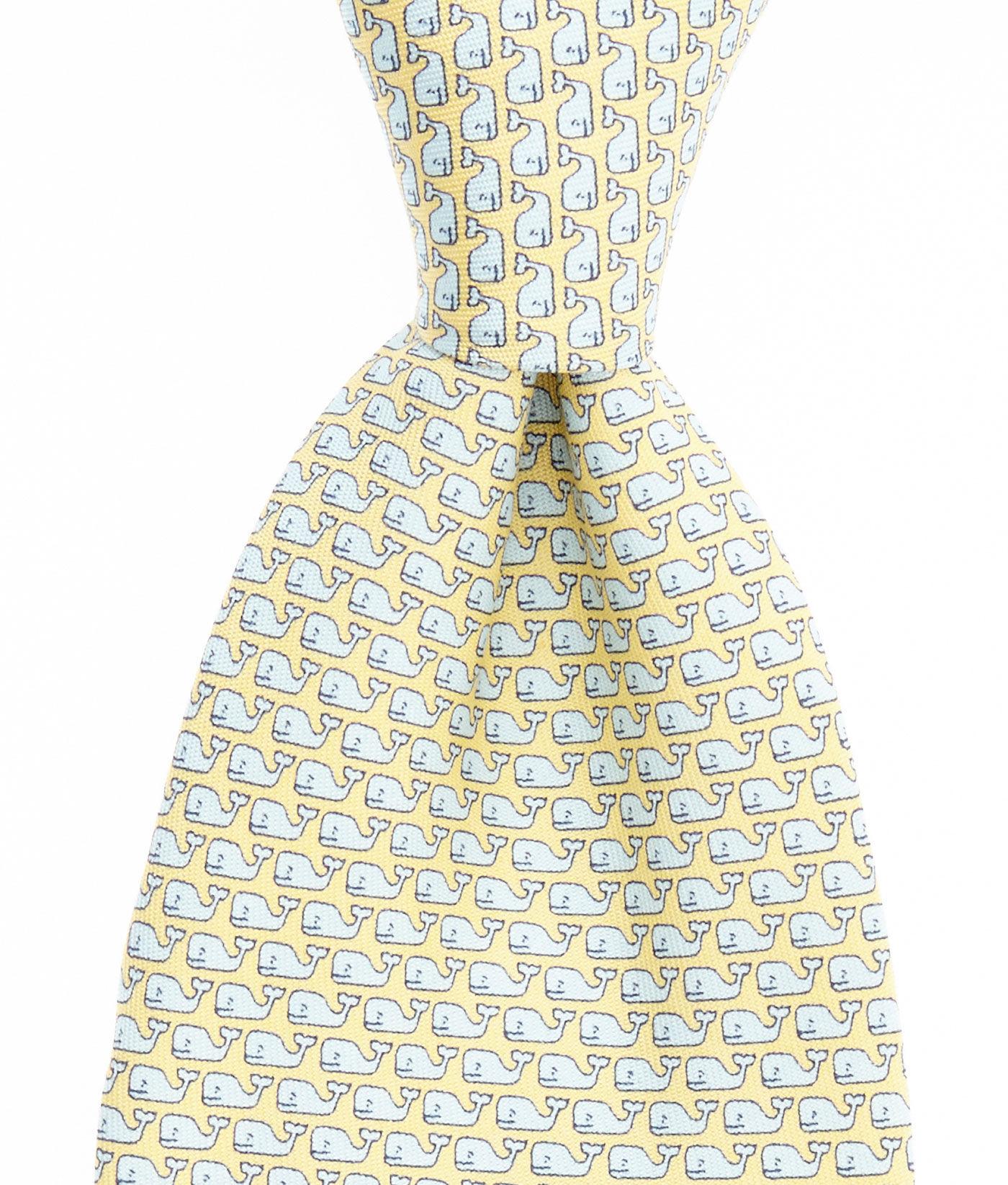 Vineyard Vines Men/'s Polka Dot Goe Silk Tie in Navy with Gift Box $85.00