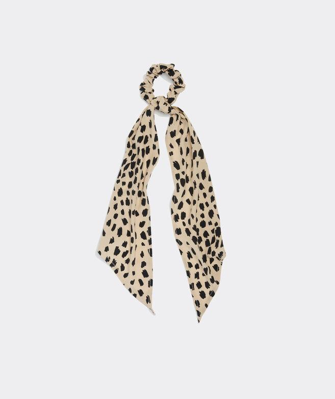 Leopard Long-Tail Scrunchie