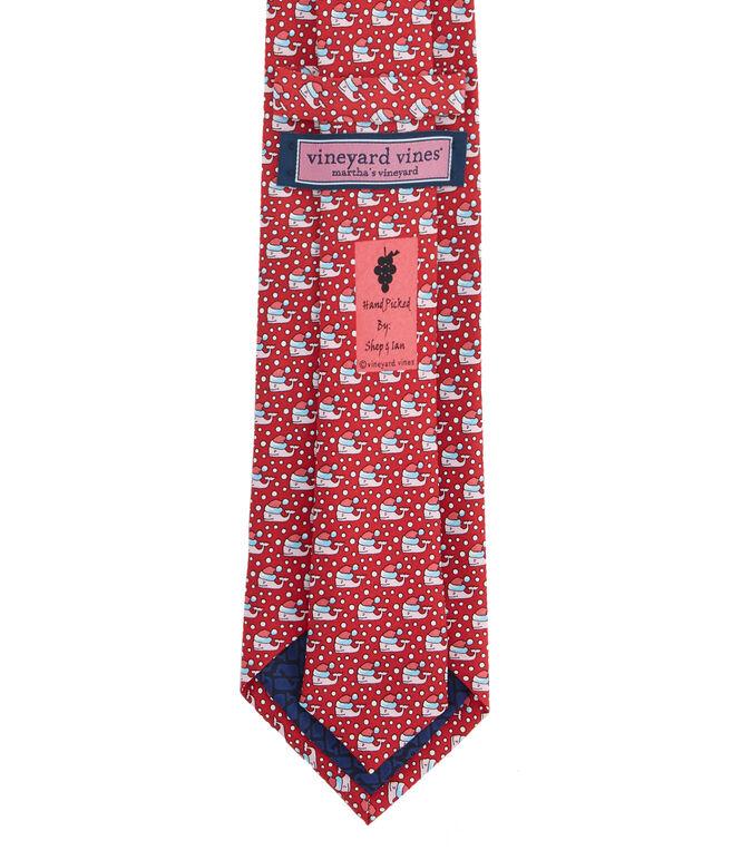 Santa Whale XL Tie