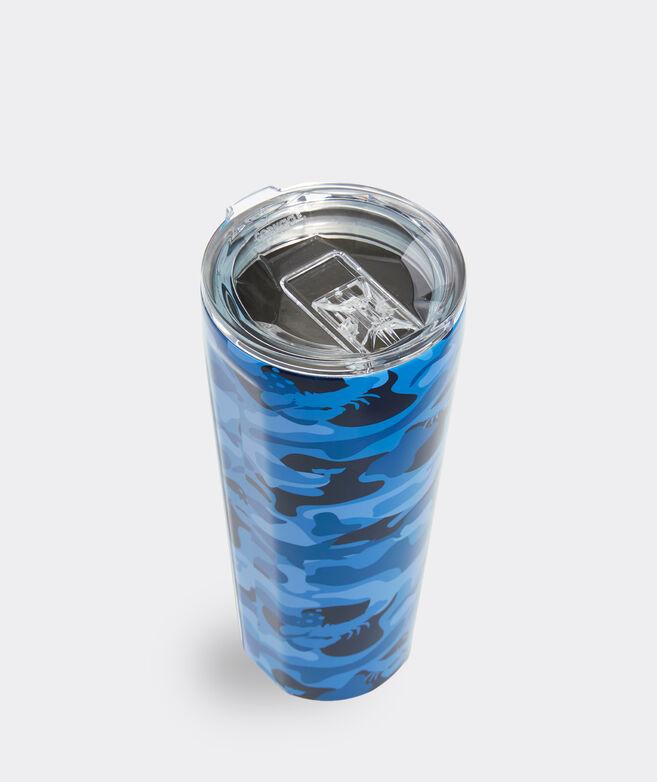 Blue Camo Corkcicle Tumbler