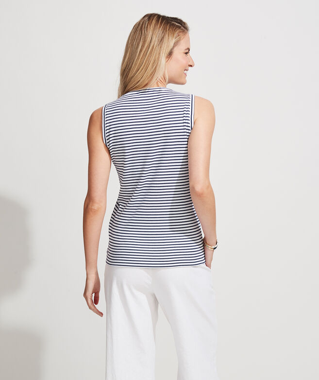 Striped Simple Tank