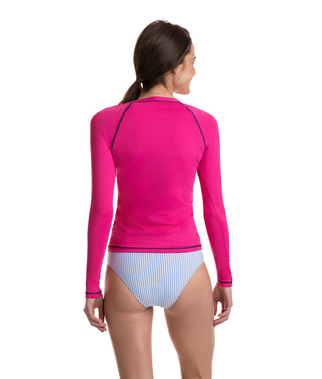 Long-Sleeve Whale Rash Guard
