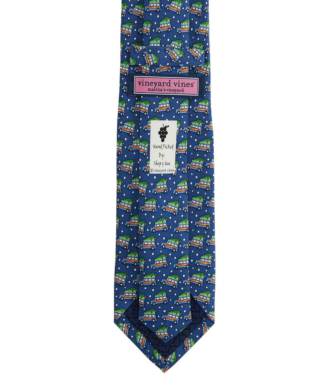 Extra Long Woody & Tree Printed Tie