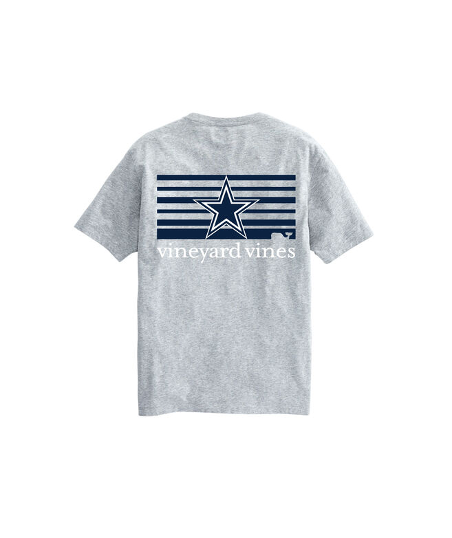 Dallas Cowboys Block-Stripe Tee