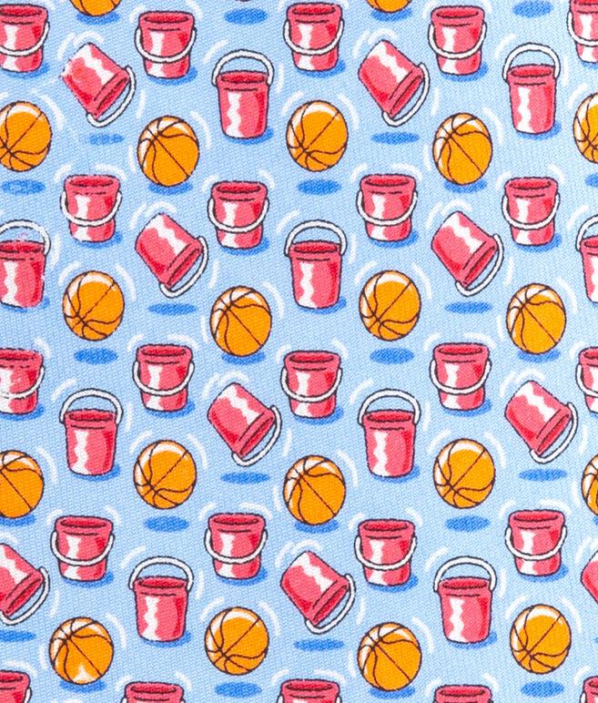 Boys New Basketball Buckets Printed Tie