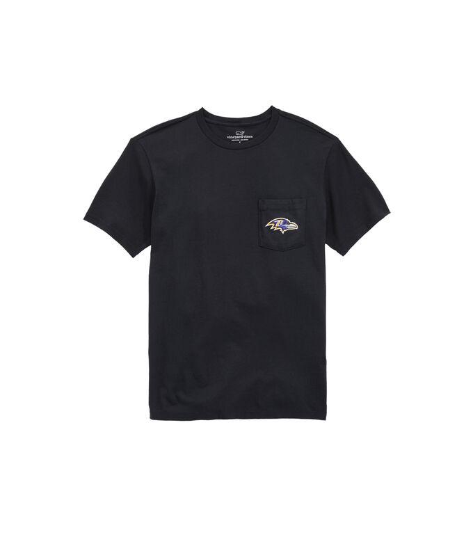 Baltimore Ravens Block Stripe T-Shirt