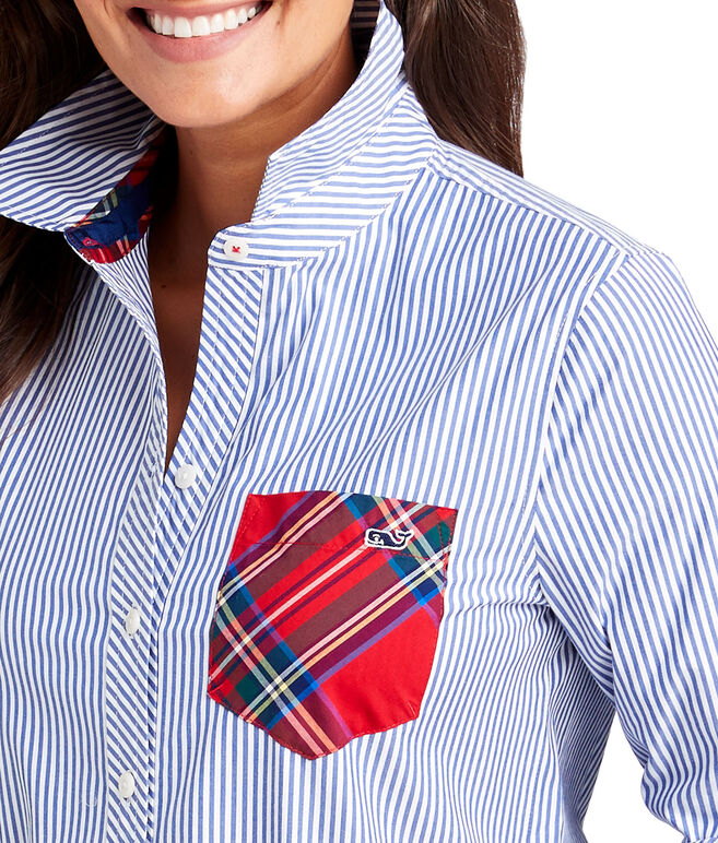 Party Pocket Chilmark Relaxed Button Down