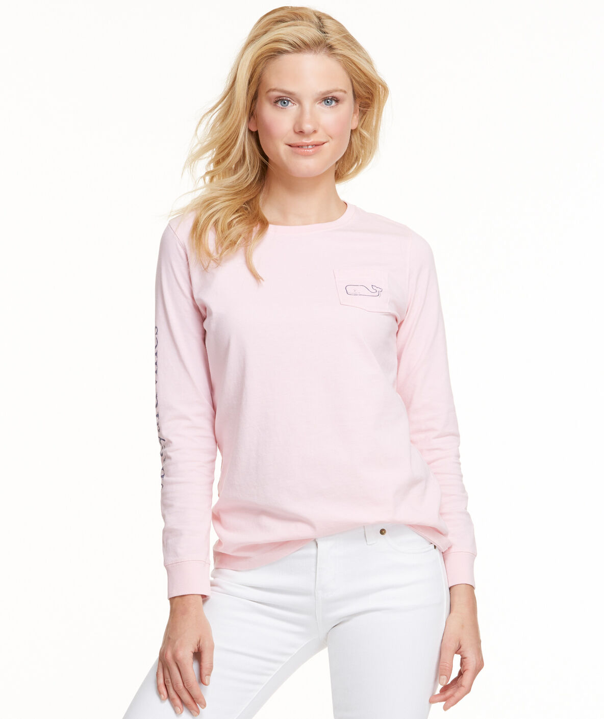 Shop Long-Sleeve Whale Pocket Graphic Tee at vineyard vines