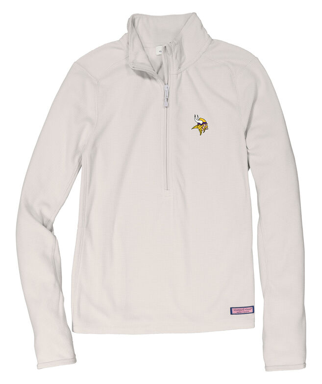 Minnesota Vikings Womens Performance Grid Fleece