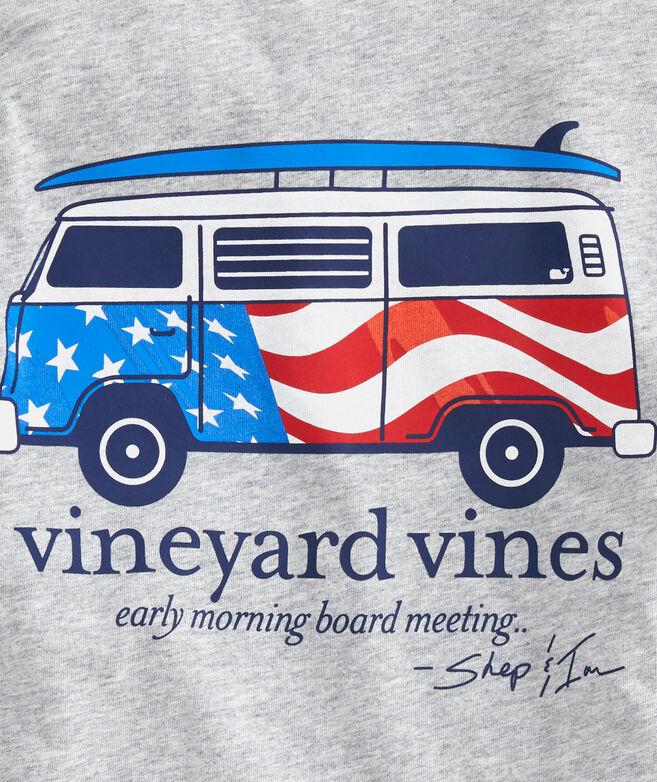 Boys USA Bus & Board Long-Sleeve T-Shirt