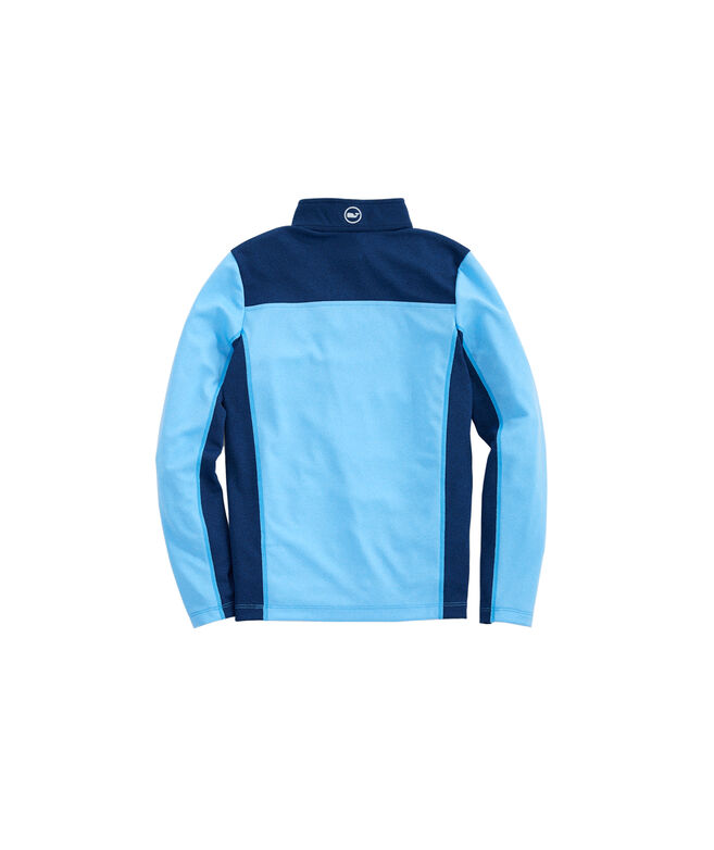 Boys Performance Mesh Back Shep Shirt