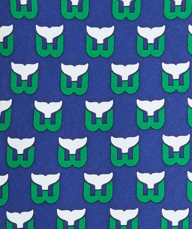 Hartford Whalers Logo Boys Tie
