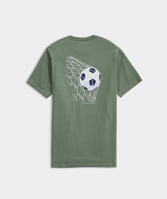 Soccer Goal Short-Sleeve Pocket Tee
