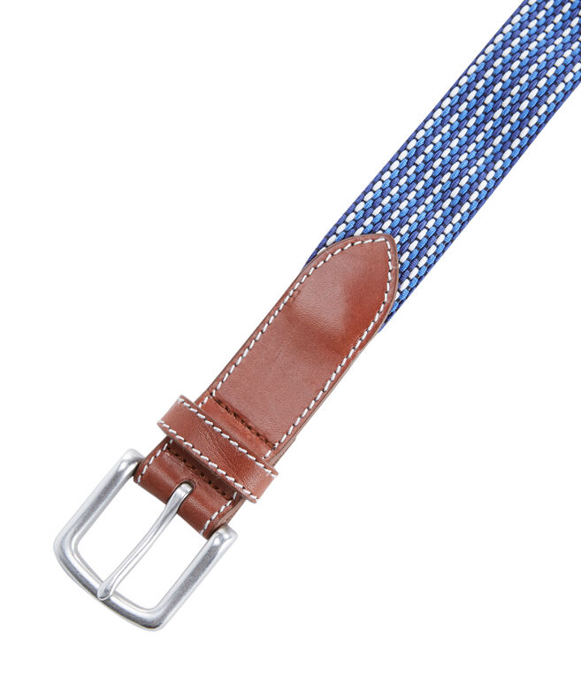 Fine Stripe Bungee Belt