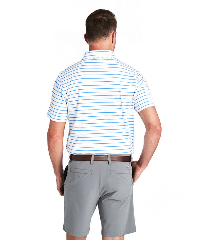 Southampton Stripe Sankaty Performance Polo