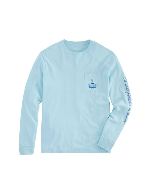 Ski Lift Long-Sleeve Pocket Tee