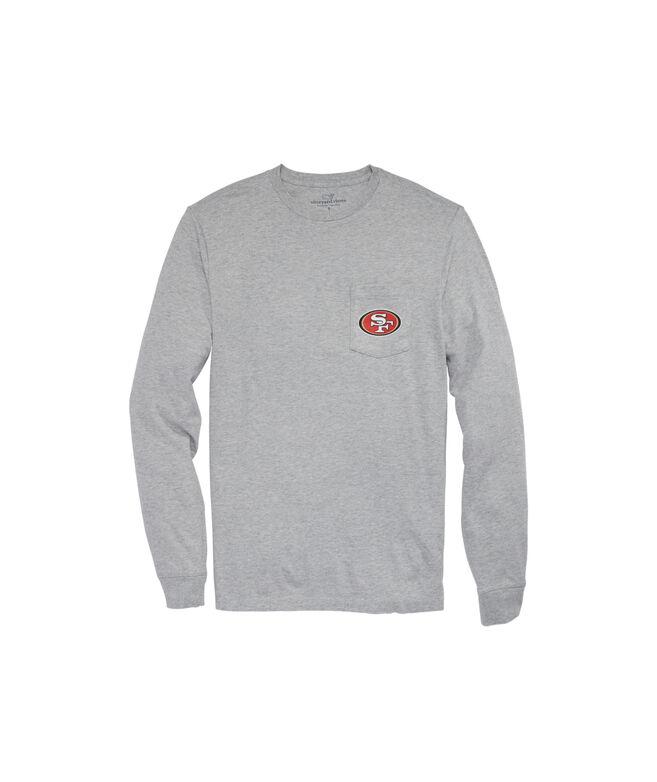 San Francisco 49ers Long-Sleeve Block Stripe T-Shirt