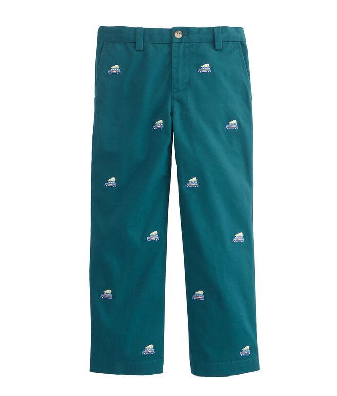 Boys Woody & Tree Embroidered  Breaker Pants