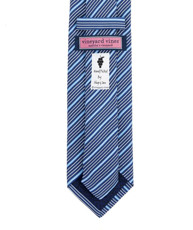 Thin Stripe Printed Tie