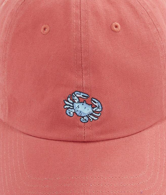 Crab Logo Baseball Hat