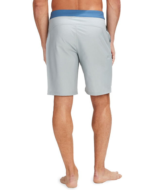 Fine Line Stripe Board Shorts
