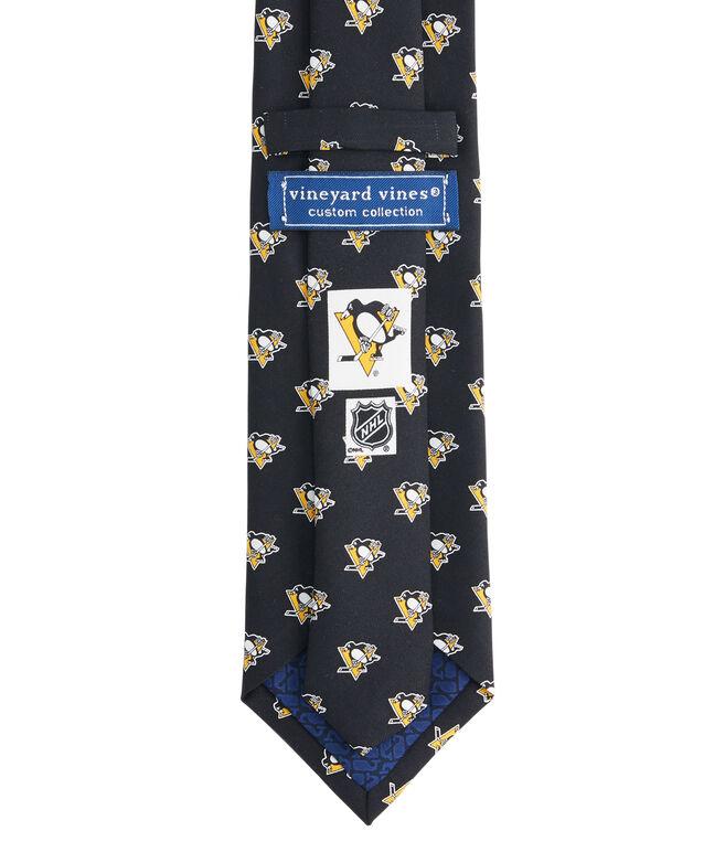 Pittsburgh Penguins Logo Tie