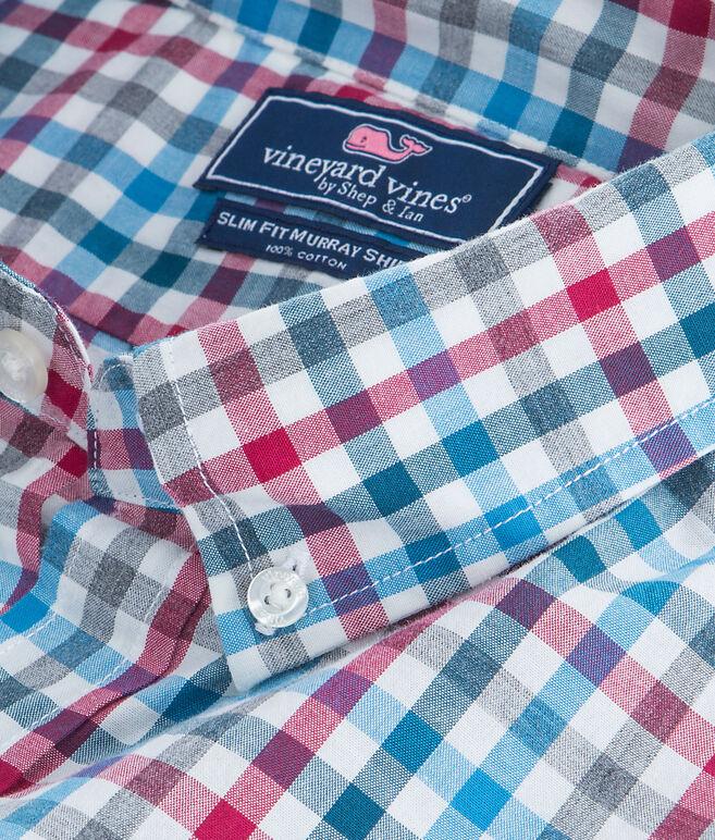 Lodge Gingham Slim Murray Shirt