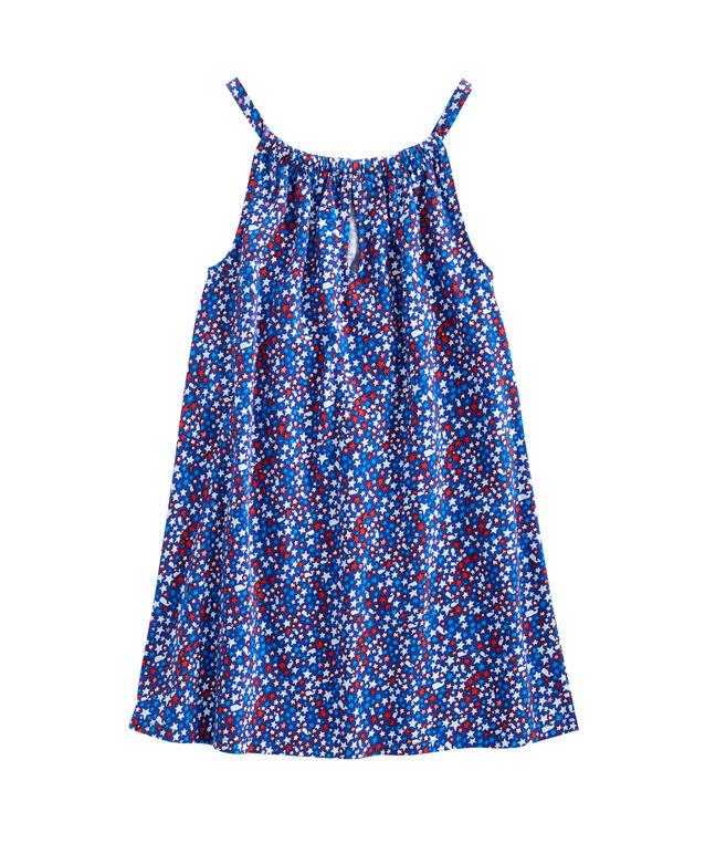 Girls Stars & Whales Knit Halter Dress