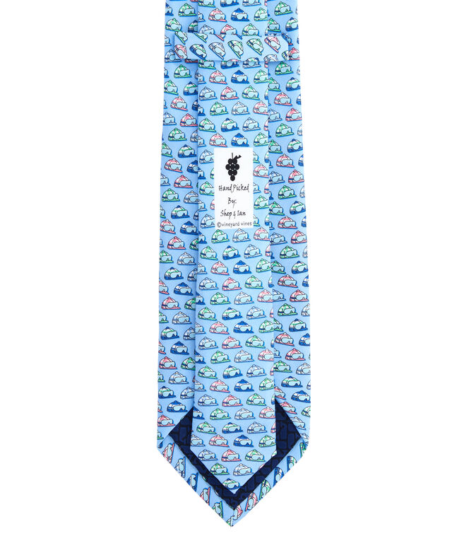 Kentucky Derby Jockey Helmets Printed Tie