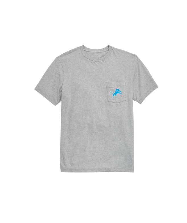 Detroit Lions Block Stripe T-Shirt