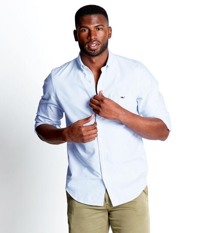 Accra Stripe Slim Tucker Shirt