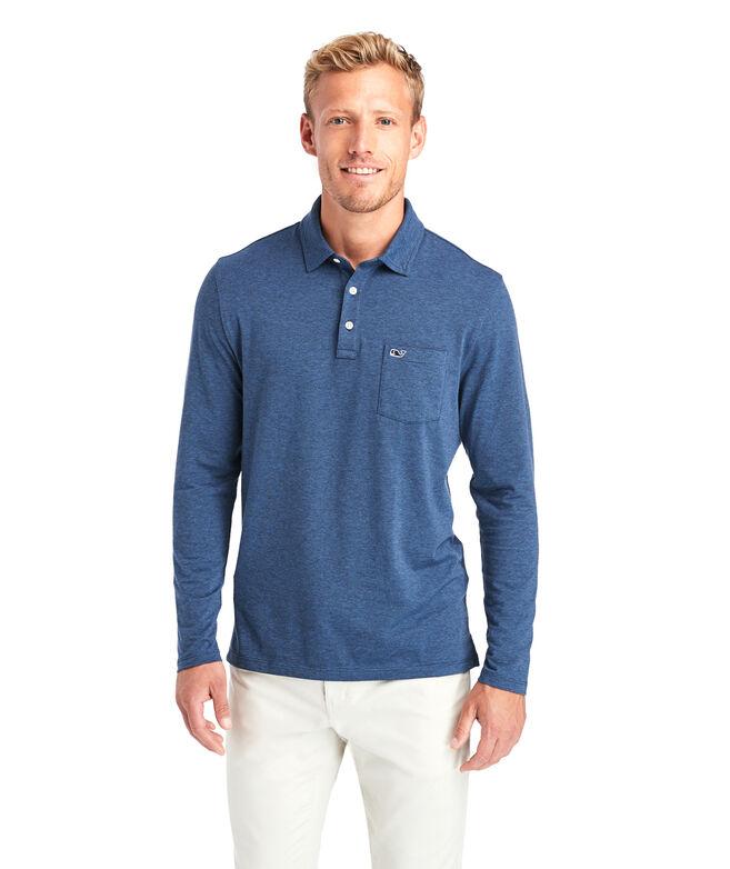 Edgartown Long-Sleeve  Polo