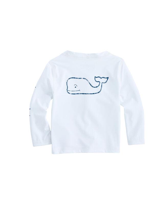 Baby Long-Sleeve Vintage Whale Rashguard