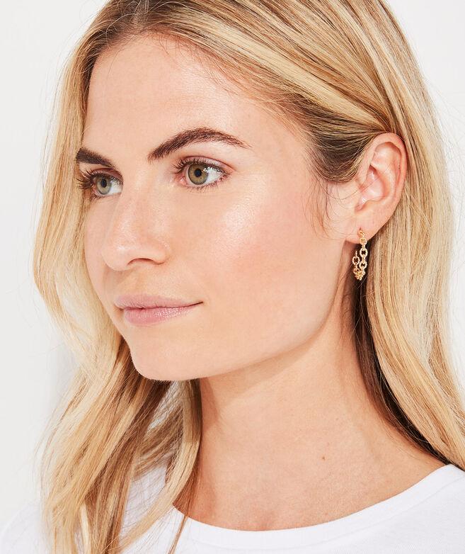 Nautical Linked Hoop Earrings