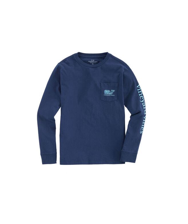 Boys Camo Utility Vehicle Long-Sleeve Pocket T-Shirt