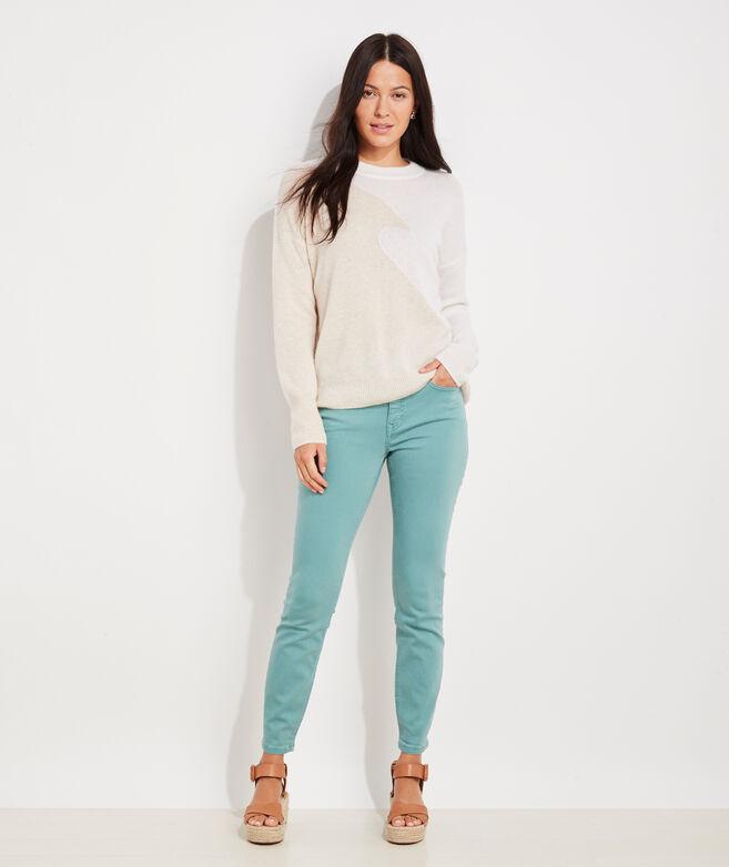 Seaspun Cashmere Wave Crewneck Sweater