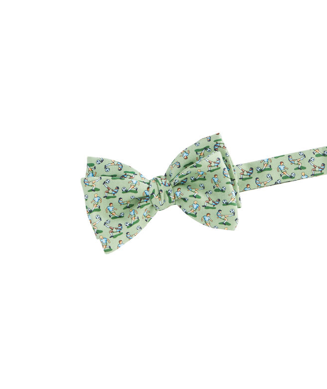 Soccer Bicycle Kick Bow Tie