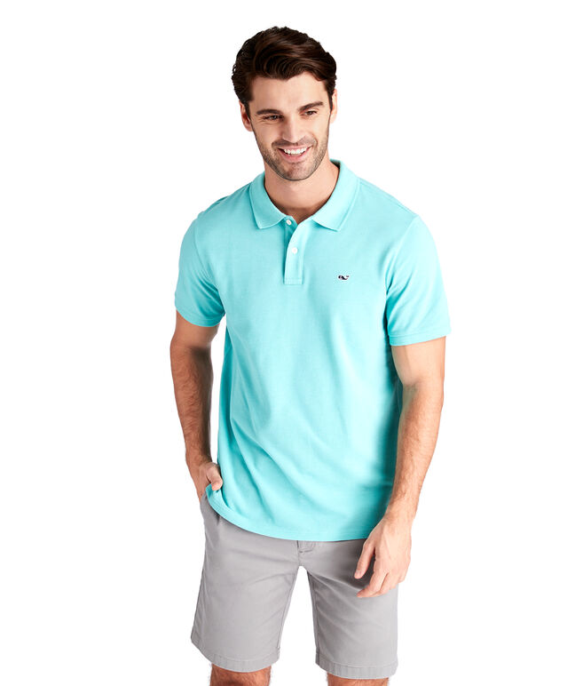 Stretch Pique Solid Polo