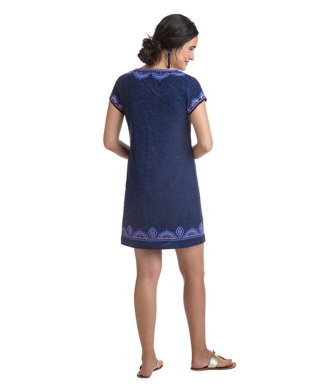 Starfish Jaquard Tunic Dress