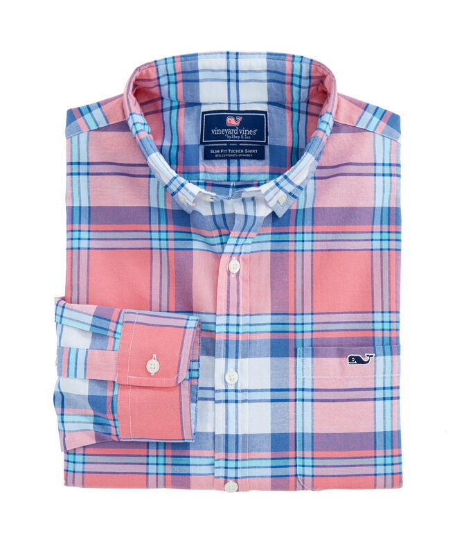 Breakpoint Plaid Slim Tucker Shirt