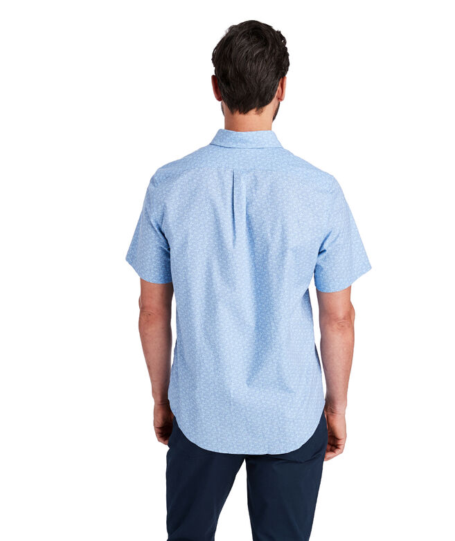 Slim Fit Mini Sportfisher Short-Sleeve Murray Shirt