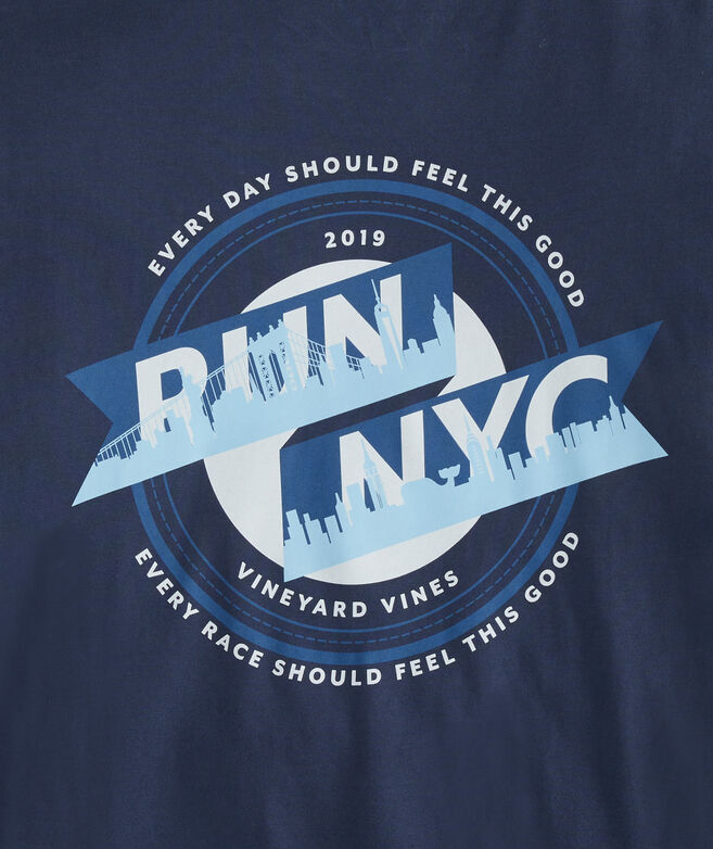 Run NYC Marathon Long-Sleeve Tee
