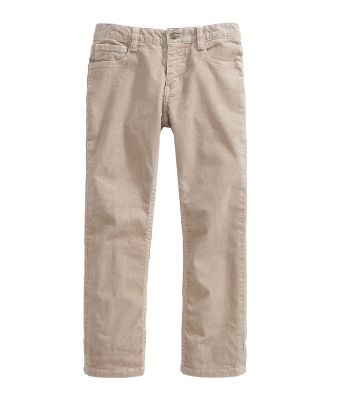 Boys 5 Pocket Corduroys