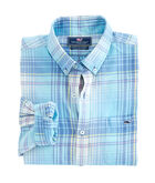 Pequot Plaid Slim Tucker Shirt